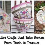12 Creative Crafts that Take Broken China From Trash to Treasure