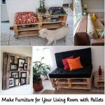 Make Furniture for Your Living Room with Pallets