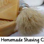 Easy Homemade Shaving Cream