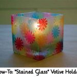 "How-To: ""Stained Glass"" Votive Holders"