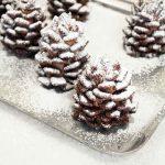 Quick & Easy Snowy Chocolate Pinecones Recipe