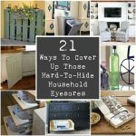 21 Ways To Cover Up Those Hard-To-Hide Household Eyesores