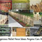 9 Ingenious Pallet Fence Ideas Anyone Can Make