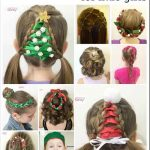 20 Easy Little Girl Christmas Hairstyles