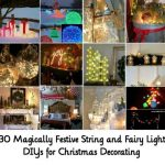 30 Magically Festive String and Fairy Light DIYs for Christmas Decorating