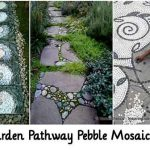 29 Garden Pathway Pebble Mosaic Ideas