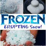'Frozen' Erupting Snow