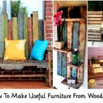 Learn How To Make Useful Furniture From Wooden Pallets