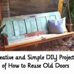 50 Creative and Simple DIY Project Ideas of How to Reuse Old Doors