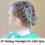 25 Holiday Hairstyles For Little Girls