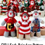 DIY Sock Reindeer Pattern