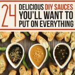 24 Delicious DIY Sauces