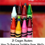 21 Crayon Busters: How To Remove Scribbles From Walls