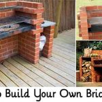 How to Build Your Own Brick BBQ