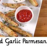 Baked Garlic Parmesan Fries