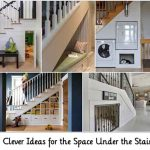 8 Clever Ideas for the Space Under the Stairs