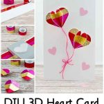 DIY 3D Heart Card