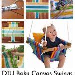 DIY Baby Canvas Swings