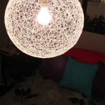 DIY String Chandelier