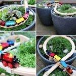 DIY Garden Train Table