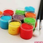 Homemade Face Paint (using only 3 ingredients!)