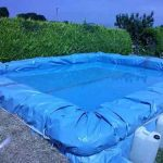 How To Build A Hay Bale Swimming Pool DIY Tutorial