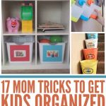 17 Mom Tricks To Get Kids Organised