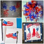 The Cutest 4th of July Handprint/Footprint Crafts