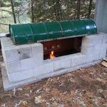 DIY Large Rotisserie Pit BBQ