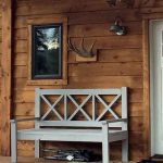 Ana White Large Porch Bench