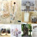 20+ Items You Can Store In Dollar Store Apothecary Jars