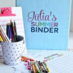 Printable Summer Binder + Activity Sheets