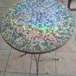Mosaic CD Garden Table