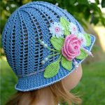 How To Knit A Summer Panama Hat