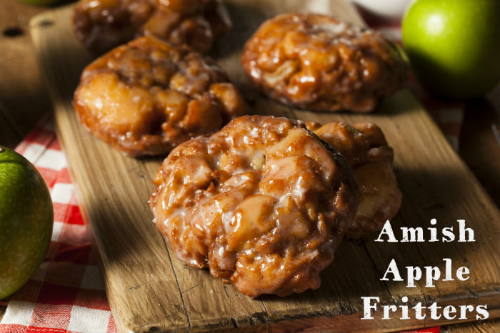 Amish Apple Fritter
