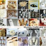 Halloween Mummy Crafts and Treats