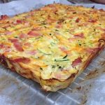 Bacon and Vegetable Slice Gluten Free