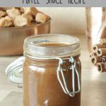 Easy Spiced Toffee Sauce Recipe
