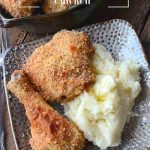 Parmesan Oven Fried Chicken