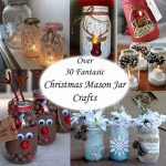 35+ Christmas Mason Jar Ideas