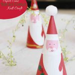Santa Claus Kids Craft