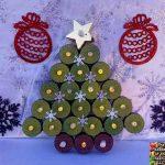 Tea Light Christmas Tree