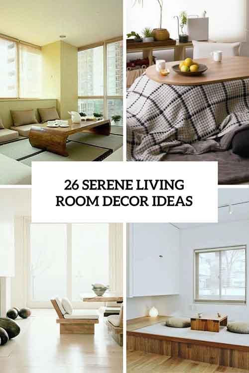 26 Serene Japanese Living Room Decor Ideas