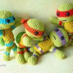 Free Crochet Pattern: Teenage Mutant Ninja Turtles