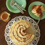 Butterscotch Cream Roll-Up