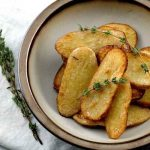 Homemade Salt and Vinegar Broiled Potato Recipe