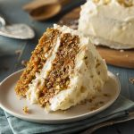 Crazy Carrot Cake – No Eggs, Milk or Butter