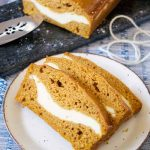 Cream Cheese Stuffed Pumpkin Bread