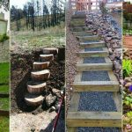 23 DIY Ideas to Make Garden Stairs and Steps
