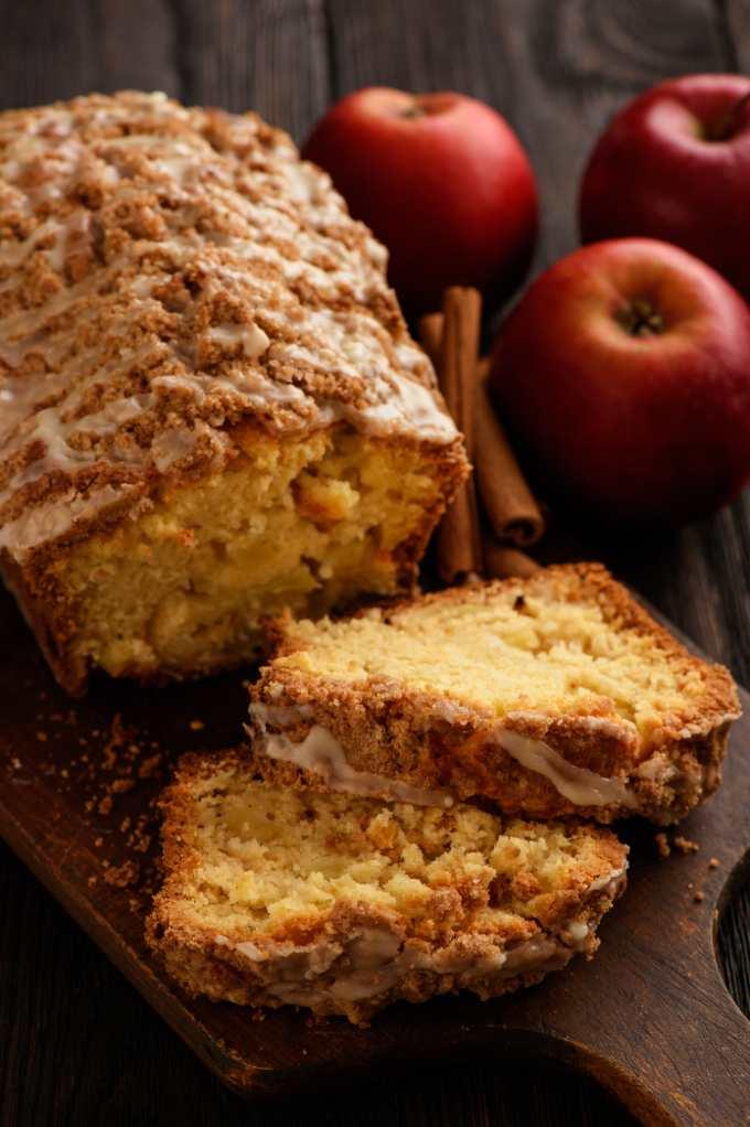Apple Yogurt Bread